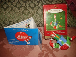 Hallmark 2000 Dr Seuss How The Grinch Stole Christmas Gifts For The In Orig Box - $14.95