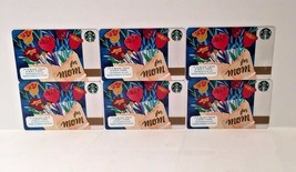 Starbucks For Mom Mother's Day Gift Card Lot 6 No Value - $6.99