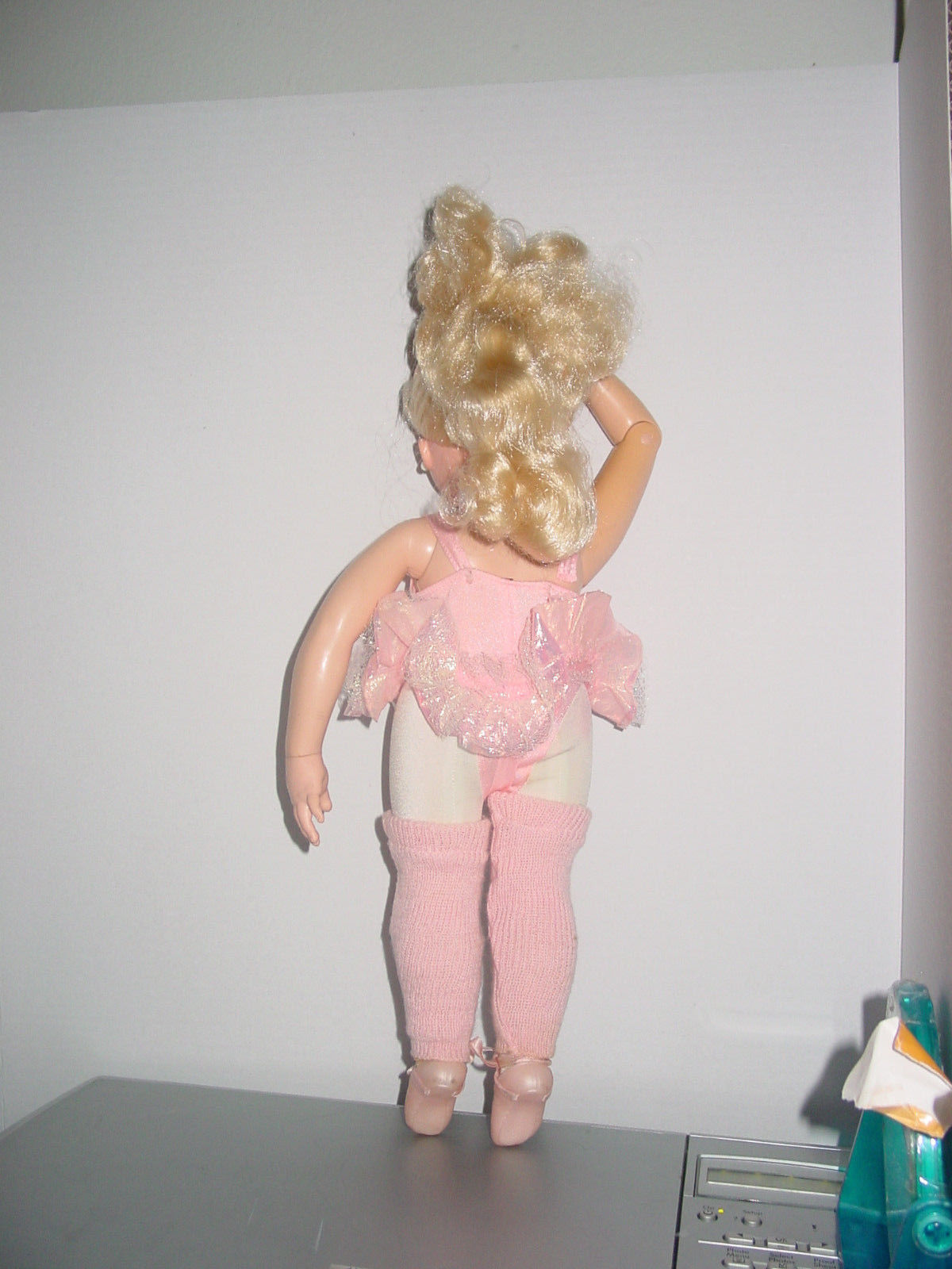 """1989 TYCO My  Pretty  Ballerina  Dancing  Doll 16"""" Tested Working"""