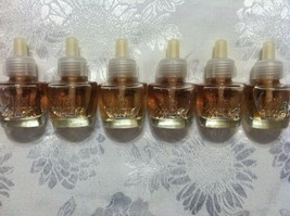 6 NEW AIR WICK SCENTED OIL REFILLS VANILLA SNOW & SOFT CASHMERE NO PACKAGE - $28.01