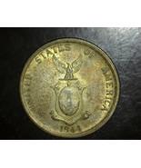 1944 S Philippines 50 Centavos Silver CH UNC - $21.99