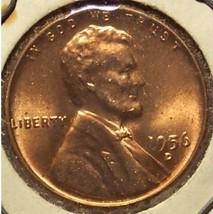 1956-D Lincoln Wheat Penny BU #0953 - $0.89
