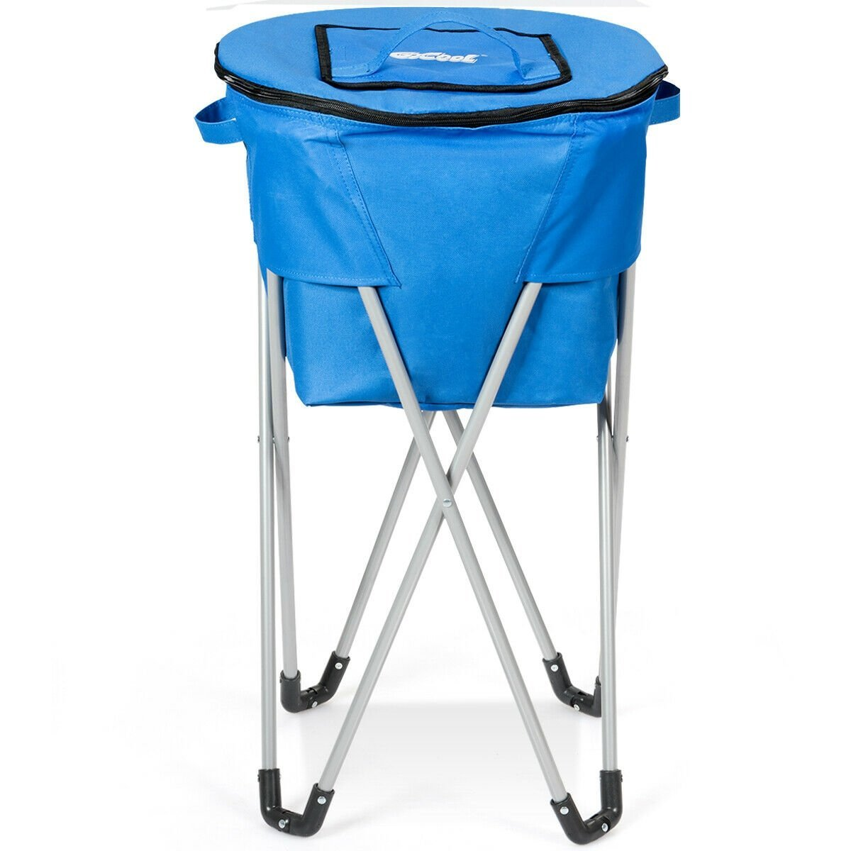 Portable Insulated Tub Party Picnic Cooler With Folding