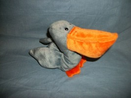 TY Beanie Babies Scoop The Grey Pelican With Hang Tag  7/1/96 - $2.48