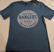 LZ CCM  Men's Small New York Rangers NHL Hockey T-Shirt Tee Shirt Top NE... - $13.99