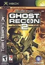 Tom Clancy's Ghost Recon 2 (Microsoft Xbox, 2004) - $0.94