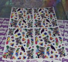 PICK1*Lisa Frank Sticker Sheet Minis Kitten Fruit Panda Peekaboo Koala Ice Cream image 3
