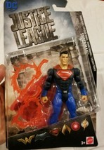 Superman Justice League Thermo Blast Action Figure Mattel 2017 Man of Steel - $29.39