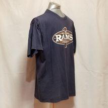 St. Louis Rams NFL Football Mens Size XL Blue Short Sleeve T Shirt image 6
