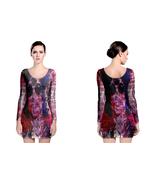 prince purple memorial LONG SLEEVE BODYCON DRESS - $25.99+