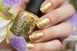OPI PINEAPPLES HAVE PEELINGS TOO! Yellow Gold w/ Multi Glitter Nail Poli... - $5.17