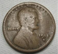 1913-S Lincoln Wheat Cent GOOD Coin AE411 - $9.75