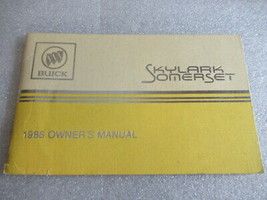 PM164 1986 Buick Skylark & Somerset Owner's Manual - $9.20