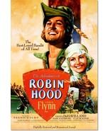 The Adventure of Robin Hood Errol Flynn Vintage Movie Poster Reproduction - $32.99+