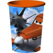 Planes Keepsake Plastic Stadium 16 oz Cup Orange Rim New - $2.23