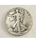 1945-S Liberty Silver Half Dollar San Francisco Mint Circulated Coin Col... - $23.76