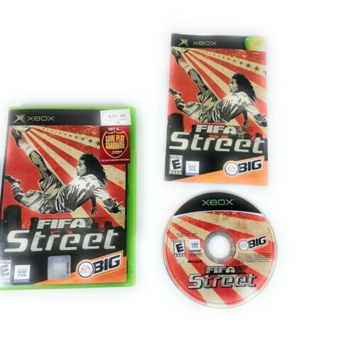 Primary image for FIFA Street (Microsoft Original Xbox 2005) COMPLETE with Manual TESTED WORK GOOD