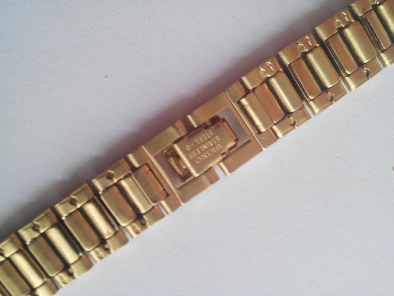 Primary image for Bracelet SEIKO stainless steel gold tone G5194E