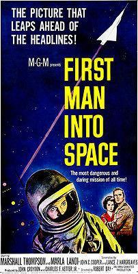Primary image for First Man Into Space - 1959 - Movie Poster