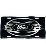 Chroma 001960 Brushed Aluminum 'Ford' Metal Tag... - $4.94