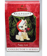 Hallmark - Puppy Love - Series 9th - 1999 Keepsake Ornament - $16.01