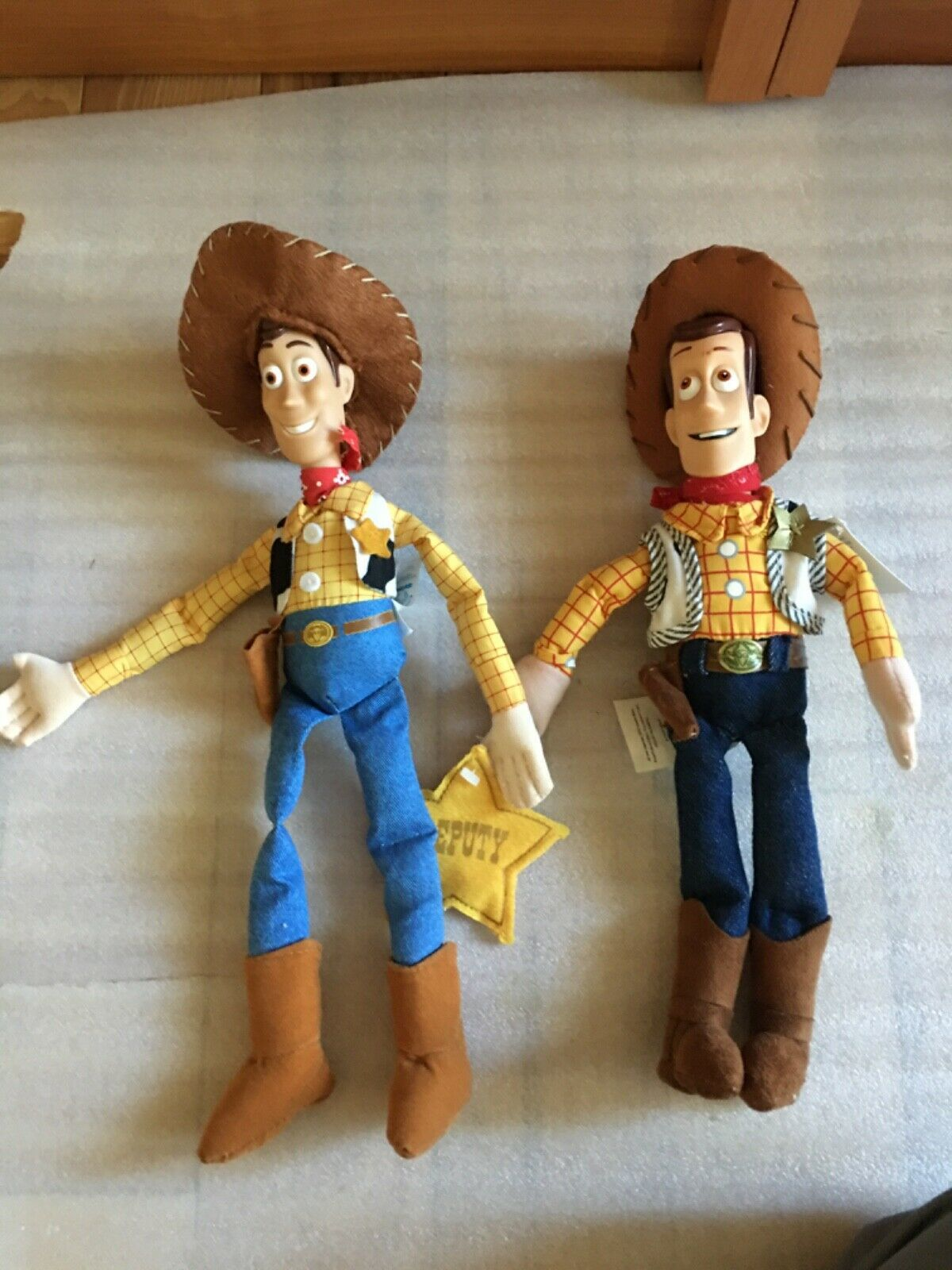 "Primary image for Disney Toy Story Sheriff Woody Cowboy 12"" Plush & Applause MBBP Woody Roto"