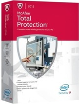 McAfee 731944645377 Total Protection 2014 - 3 PCs - $16.49