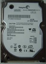 "New ST9408114A Seagate 40GB IDE 44pin 2.5"" 9.5mm Hard Drive Free USA Shipping"