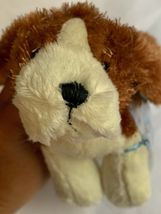 Ganz Webkinz Shaggy Brown White Basset Hound Puppy Dog Stuffed Plush Animal 9in image 9