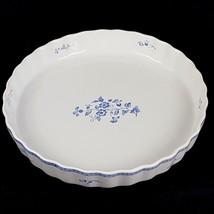 Fyrklovern Pie Plate Firkloveren Apilanlehti Classic Quiche Tart Blue White - $15.47