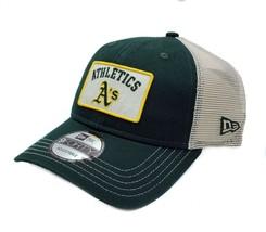 Oakland Athletics New Era 9Forty Trucker B1 Mesh Adjustable Snapback Hat... - £19.85 GBP