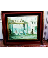 1959 ORIGINAL WATER COLOR BY RECOGNIZED FRENCH BORN IN AMERICA RODERIC M... - $137.61