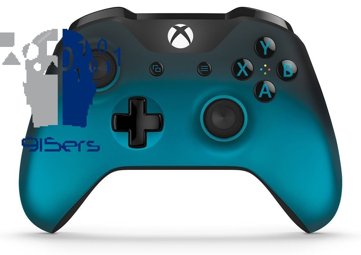 Xbox One Wireless Controller Ocean Shadow Blue Special Edition