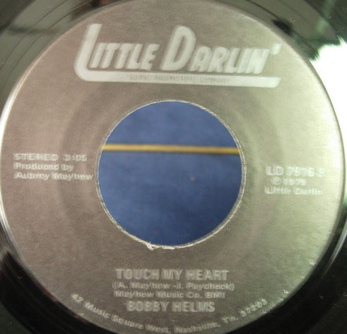 """Bobby Helms - One More Dollar For the Band / Touch My Heart - LD 7916 - 7"""""""