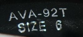 I Love Yo Kids AVA 92T Girls Fringe Boot Black Zip Up Size Six image 8