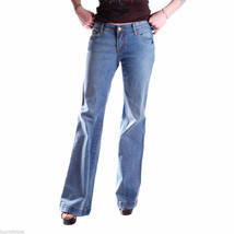 7 For All Mankind Jeans Distressed Light Wash Flares NWOT Size 26 x 34 Unisex - $40.84
