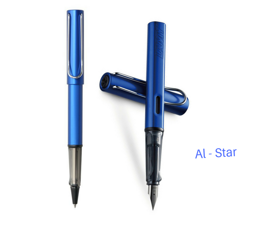 2017 Lamy Safari AI-star Ocean Blue Roller Ball Pen + Fountain Pen for choose