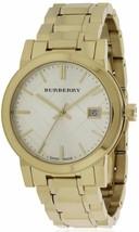 Burberry BU9103 The City Gold Swiss Made Womens Watch - $141.08