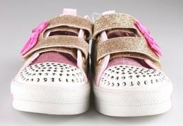 Bébé Fille ' S Sport Par Skechers Cristal Or Stars Madelyne Clair Dessus Baskets image 2