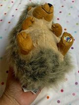 "Webkiz Hedgehog Ganz HM130 No Code 7"" plush stuffed animal Used Free Shipping image 6"