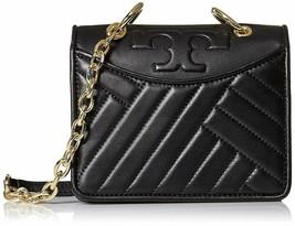 Tory Burch Women's Alexa Leather Mini Shoulder Bag, Black, 8985-6 - $286.11