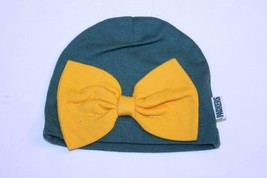 Infant/Baby Girls Green Bay Packers 6/9 Months Infant Hat w/Bow NFL Team Apparel - $9.49