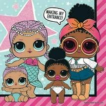 LOL Surprise Dolls Napkins Lunch Large Decoration Supplies Girls Party ~... - $6.88