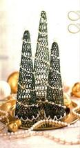 Z520 Crochet PATTERN ONLY Festive Trees Christmas Décor Pattern - $7.50