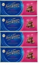 FAZER Karl Fazer Raisin & hazelnuts in milk chocolate 4 x 200 g (4 pcs) - $33.17