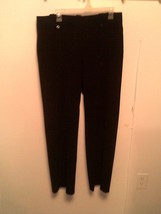 LARRY LEVINE ~ Women's 14 Black Dress Pants ~ STRETCH - $14.83