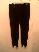 LARRY LEVINE ~ Women's 14 Black Dress Pants ~ STRETCH - $19.67 CAD