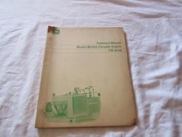 John Deere Chrysler Engine HB-225 Technical Service Repair Manual TM1046 jd Book - $15.99