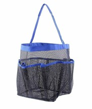 Hanging Toiletry Bath Organizer Shower Tote Mesh Caddy Dorm Gym Camp Travel - $23.66