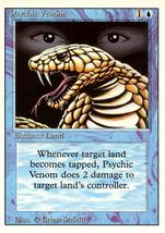 Magic: The Gathering 3rd Edition - Psychic Venom - $0.25